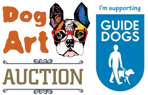 Dog Art Auctions for Guide Dogs for the Blind