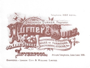 Turner & Sons Auctioneers and Valuers